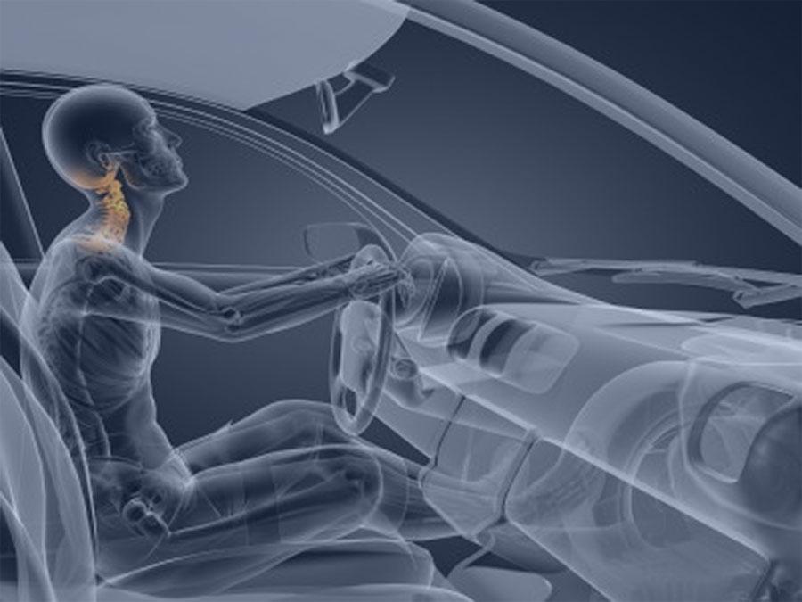 Lesiones accidente de trafico vertebras Cuidate fisioterapia Murcia